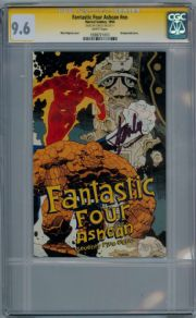Fantastic Four Ashcan 1994 CGC 9.6 Signature Series Signed Stan Lee Mike Mignola Cover Marvel comic book